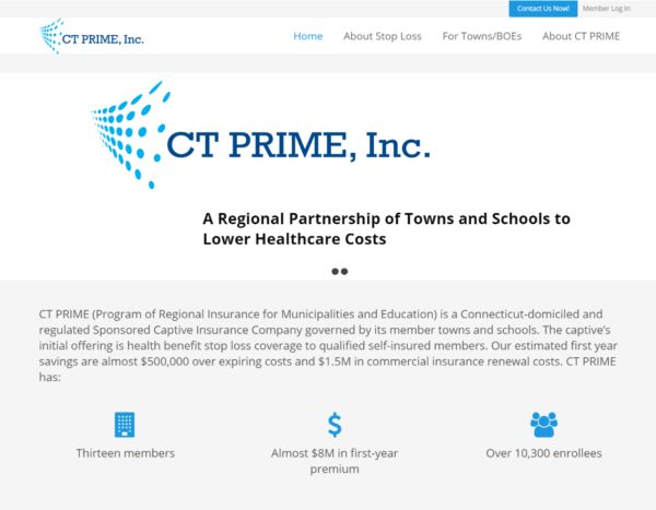 CT PRIME Website Redesign